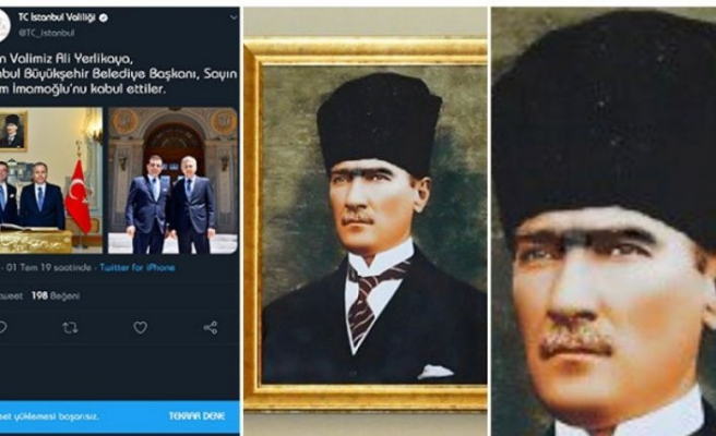 İstanbul Valiliği'nden o fotoğrafa garip savunma
