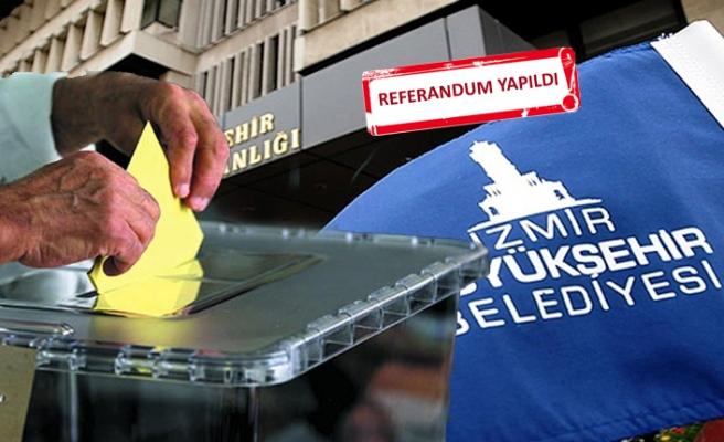 İzmir Büyükşehir'de çalışanlar sandık başında