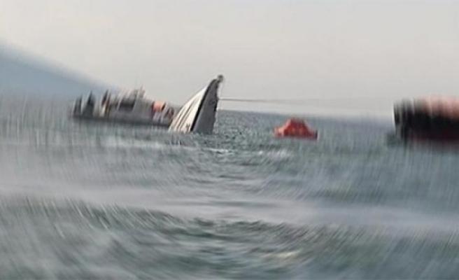 İzmir'de balıkçı teknesi battı!