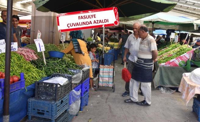 Sıcak hava, pazarcıları da vurdu