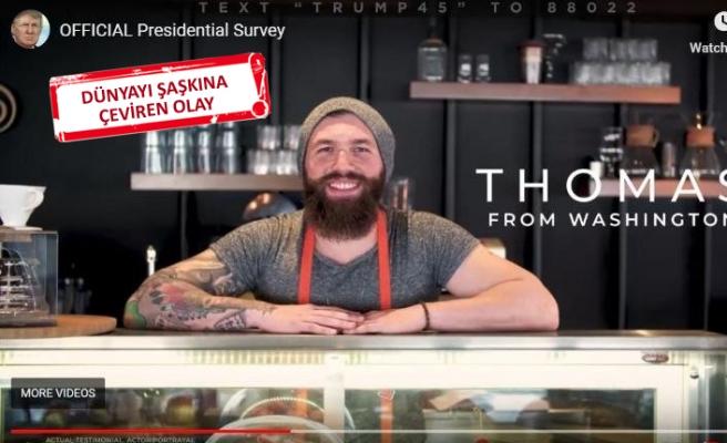 Trump'ın propaganda videosunda bir İzmirli çıktı