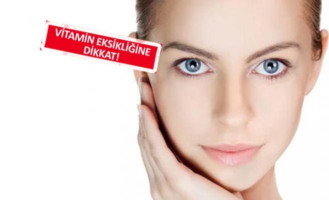 Yüzümüzden anlaşılan 5 vitamin eksikliği