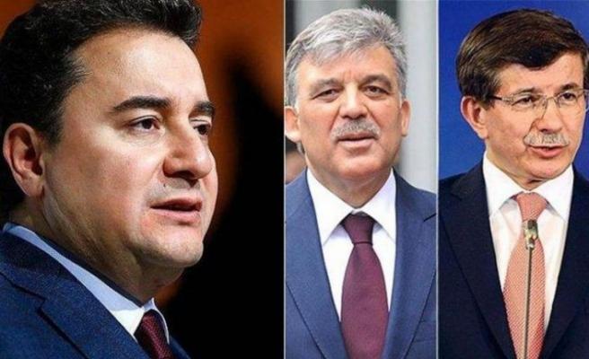AK Parti'de ipler tamamen koptu! Gül, Babacan ve Davutoğlu...