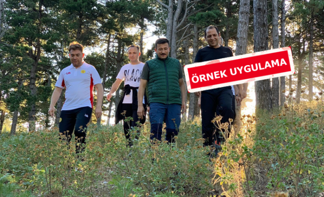 AK Partili Dağ: Her gittiğim yerde ağaç dikeceğim