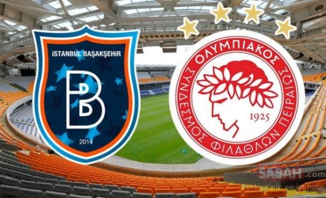 Başakşehir Olympiakos Şampiyonlar Ligi maçı ne zaman, saat kaçta, hangi kanalda?