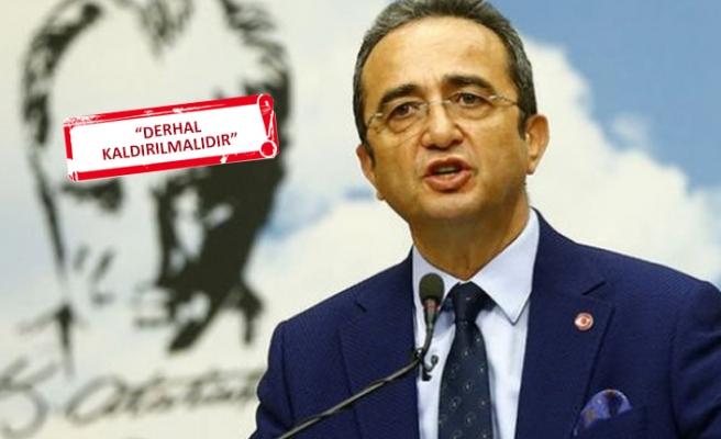 Bülent Tezcan'dan Aydın Valiliği'nin yasak kararına tepki