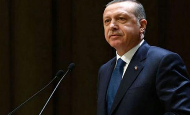 Cumhurbaşkanı Erdoğan'a bayram tebriği