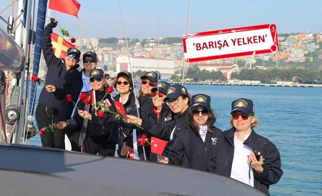 Dünya Barış Günü'nde kadın denizciler Ege sularında buluşacak