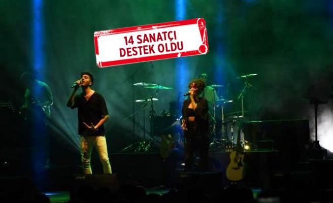 Emine Bulut'un kızına destek konseri