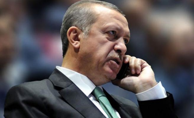 Erdoğan'ın bayramlaşma telefon trafiği