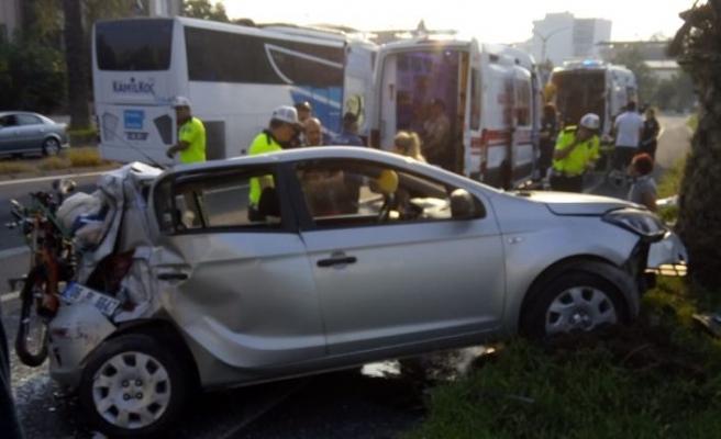 Feci kaza: 1 ölü 5 yaralı!