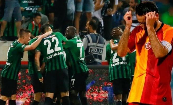 Horozlar aslana geçit vermedi: Denizlispor 2-0 Galatasaray