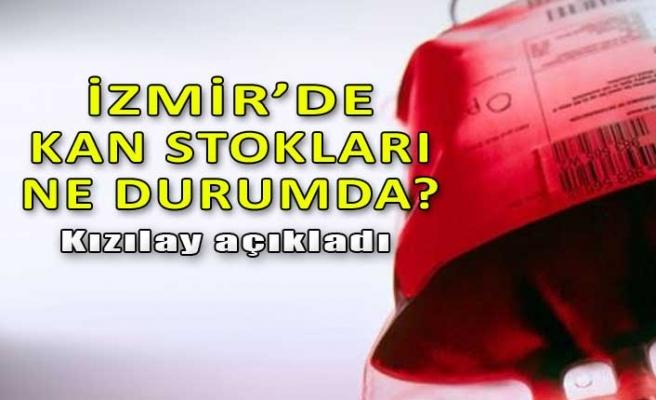 İzmir'de kan stokları ne durumda? Kızılay açıkladı...