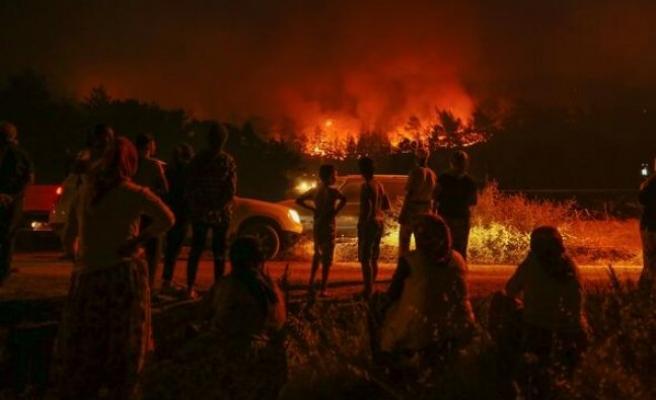 İzmir yangını meclis gündeminde