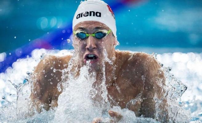 İzmirli yüzücü Emre'nin Tokyo gururu