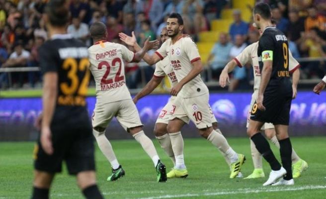 Kayseri'de 5 gol, 4 kırmızı kart