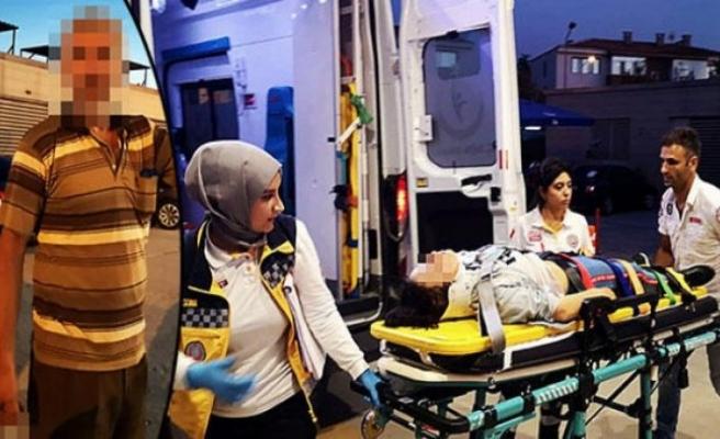 Kazada yara almadı ama babası hastanelik etti!