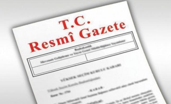 Kritik atama kararları Resmi Gazete'de yayımlandı