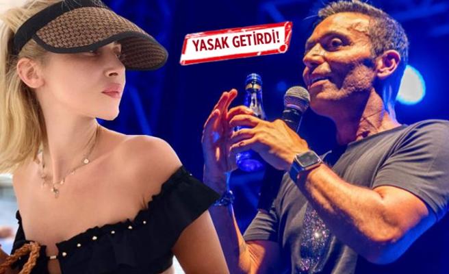Mustafa Sandal'dan Melis Sütşurup'a konuşma yasağı