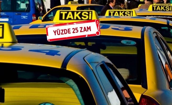 Taksi, minibüs ve servislere zam yapıldı!