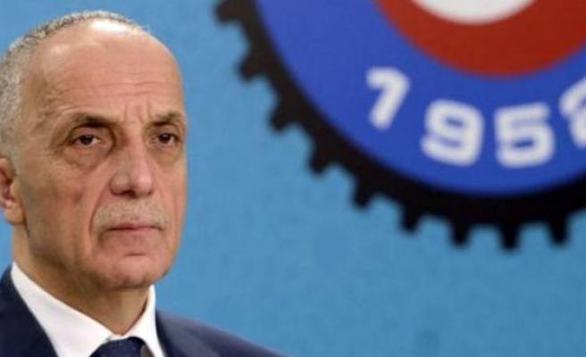 Türk-İş başkanı: Eleştirenler terörü destekliyor