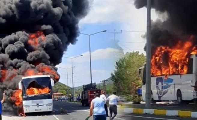 Uzmanlara göre yanan otobüslerdeki sorun...