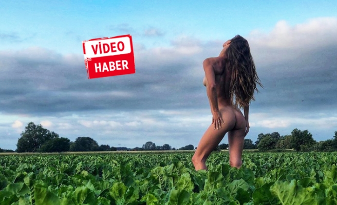 Yoga videosu olay oldu!