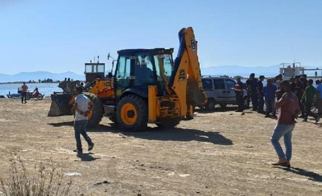 Ayvalık'ta deniz patlıcanı avcılarına operasyon