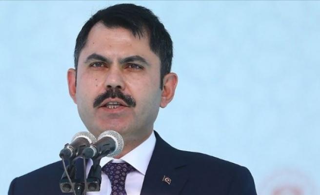 Bakan Kurum açıkladı: 5 yılda 1 buçuk milyon konut...