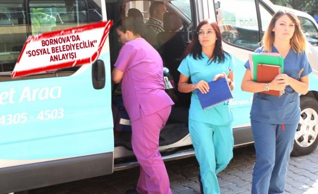 Bornova Belediyesi sağlıkta da ihtiyaç sahiplerinin yanında