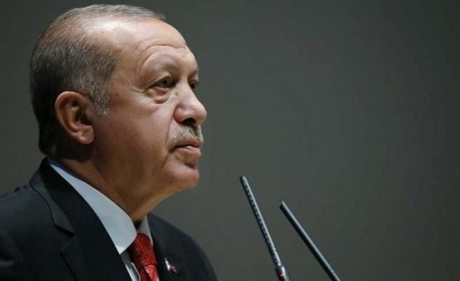 Erdoğan'dan adli yıl açılış mesajı