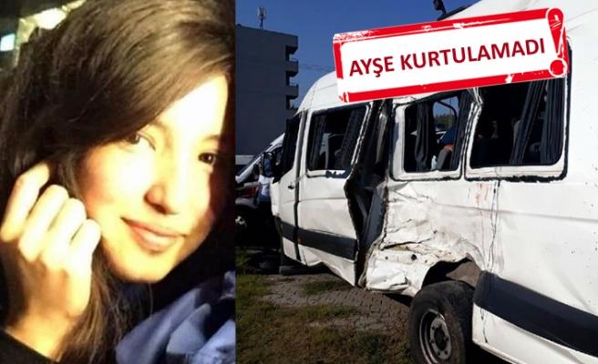Feci kaza: Okul servisi ile kamyon çarpıştı