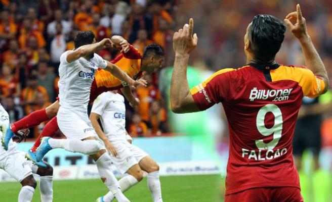 Galatasaray: 1 - Kasımpaşa: 0
