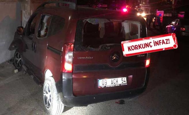 İzmir'de kanlı saldırı! Seyir halindeyken kurşun yağmuruna tutuldu