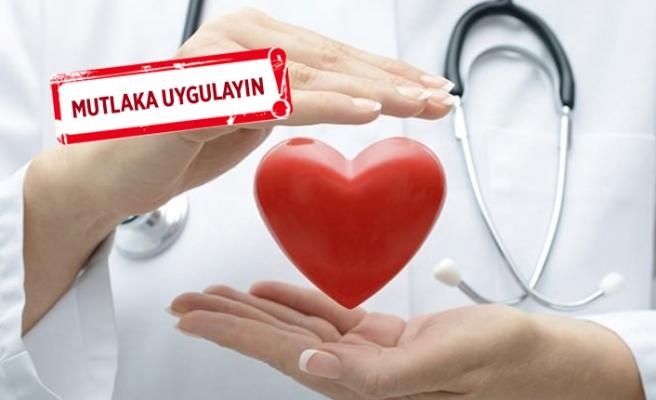 Kalp sağlığınız için öneriler