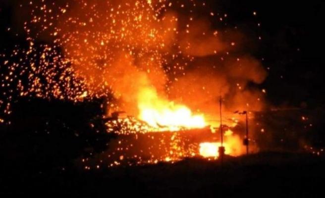 KKTC'de askeri bölgede art arda patlamalar meydana geldi