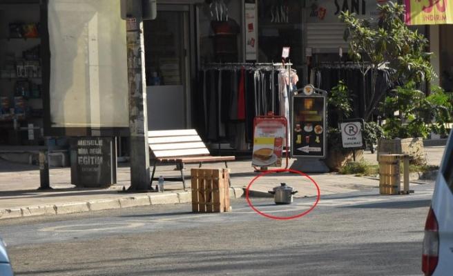 İzmir'de bomba paniği: Fünyeyle patlatıldı