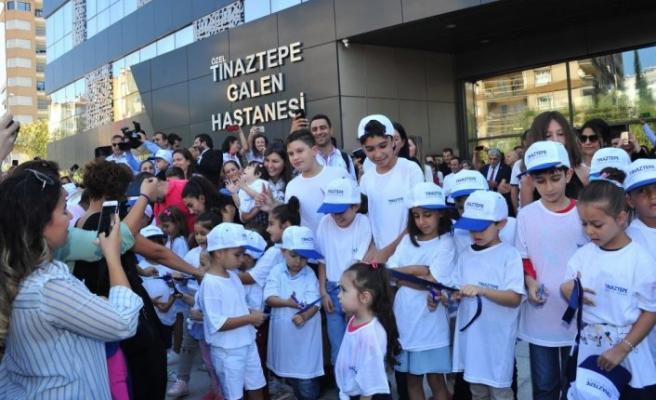 Tınaztepe'ye özel açılış