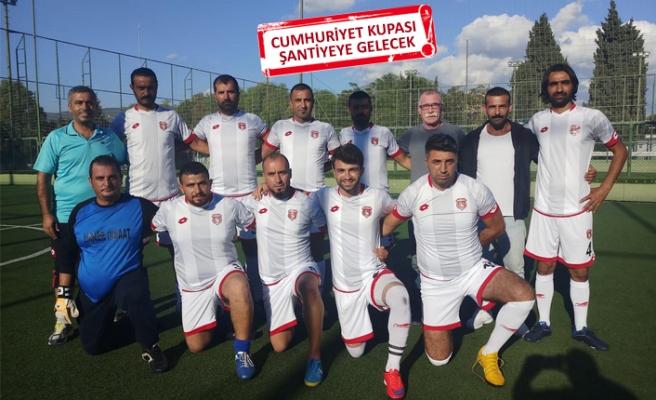Çiğli Belediye Şantiye spor zaferle başladı!