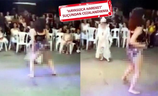 Dansöz oynatılan sünnet düğünüyle ilgili iddianame hazır