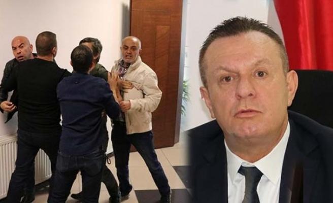 Denizlispor basın toplantısında arbede!