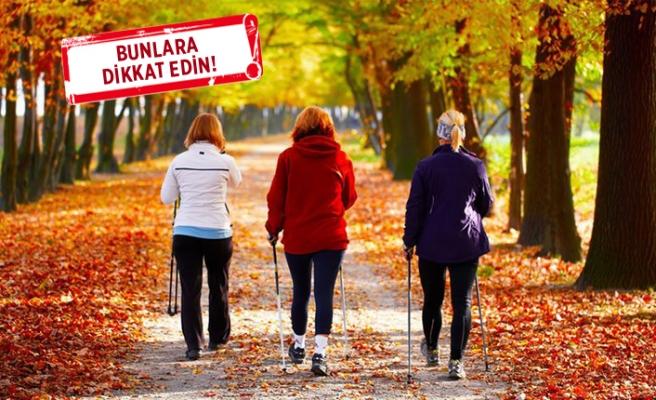 Doğru yürüyüş nasıl yapılmalı?