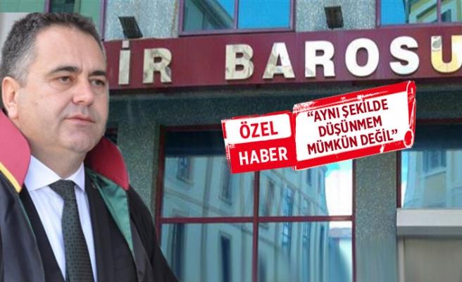 Eski Başkan Aydın Özcan'dan, İzmir Barosu'nun açıklamasına sert tepki!