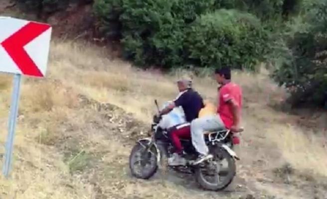 İncir hırsızlarını çektiği video sayesinde yakalattı