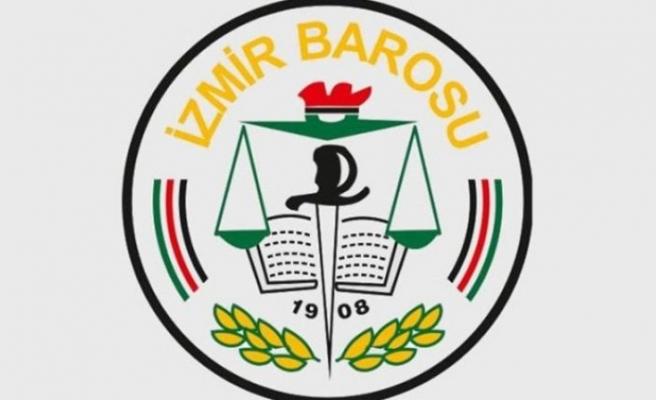 İzmir Barosu'ndan flaş Barış Pınarı açıklaması!