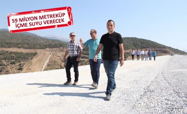 İzmir ve Manisa'daki toplam 6 barajda inceleme yaptılar