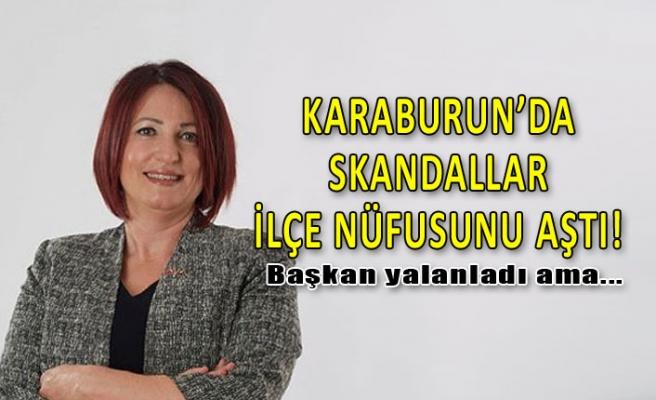 Karaburun'da Başkan Erdoğan'ın skandalları, ilçenin nüfusunu aştı!