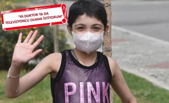 Löseminin iki türüne birden yakalanan Gürcistanlı Tekla, İzmir'de sağlığına kavuştu