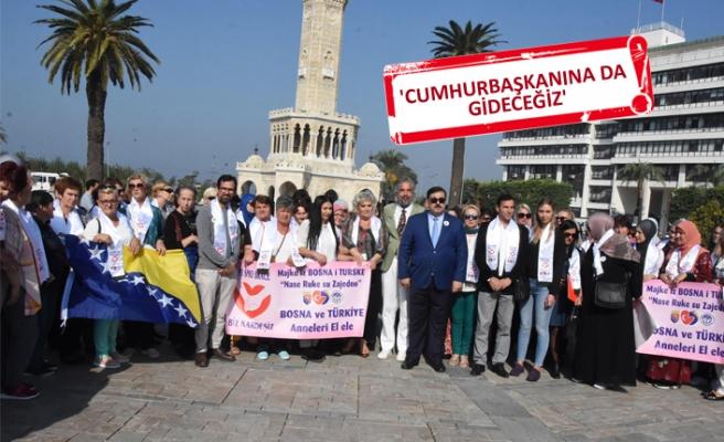 Srebrenica Anneleri'nden, 'Diyarbakır Anneleri'ne destek