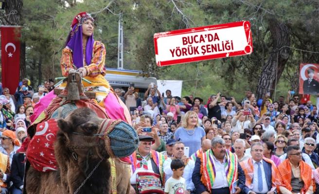 Yüzlerce yıllık Yörük ve Türkmen geleneği Buca'da yaşatıldı
